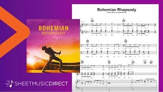 Bohemian Rhapsody Sheet Music - Queen - Piano, Vocal & Guitar