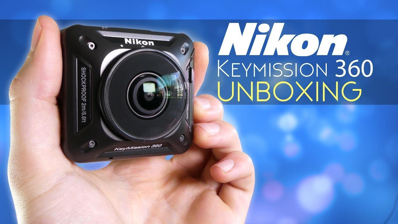 מעולה Nikon KeyMission 360 - Unboxing (Bargain Price!) [4K] - YouTube FH-78
