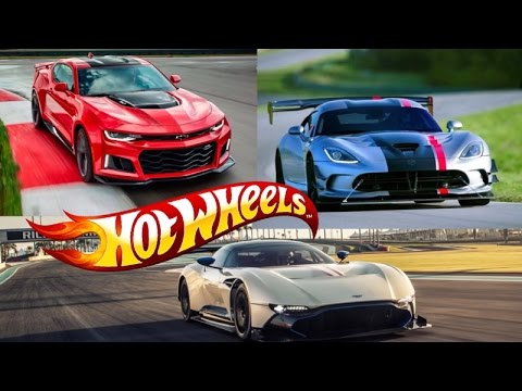 2017 Hotwheels Aston Martin Vulcan Camaro Zl1 And Dodge