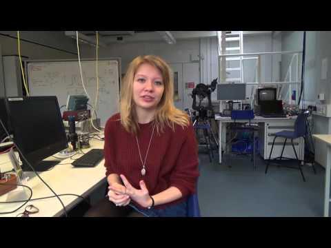 BSc Physics with Astrophysics student Linn