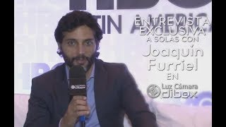 ENTREVISTA con Joaquín Furriel, presentando