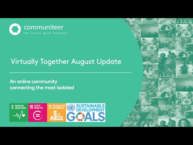 Virtually Together Monthly Update August 2020
