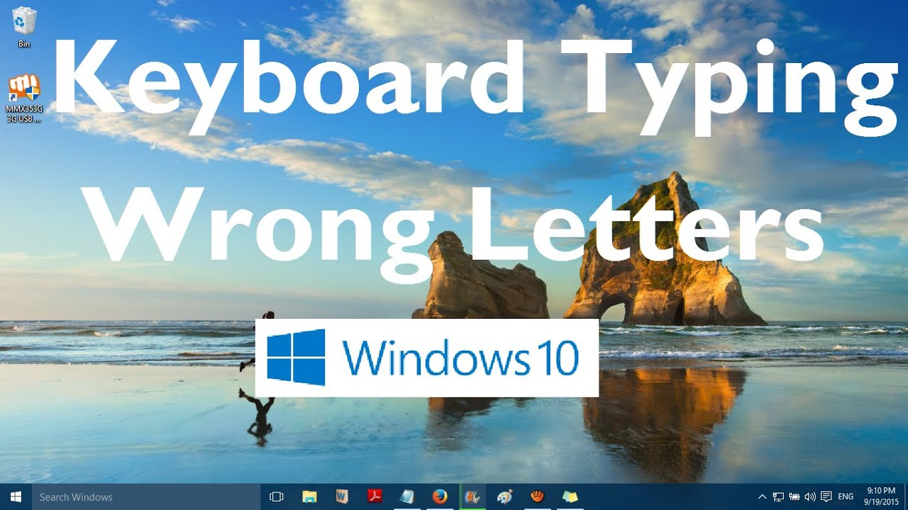 Keyboard Typing Wrong Charactersletters In Windows 10 Solved