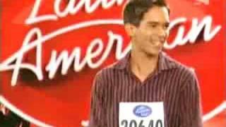 Latin American idol Panama - Carlos Gutierrez