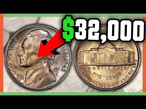 $32,000 RARE NICKEL - FULL STEP JEFFERSON NICKELS WORTH MONEY!!