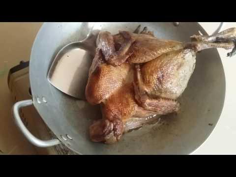 How to Boil Ngam Ngov Duck 2017  Khmer how to boil duck