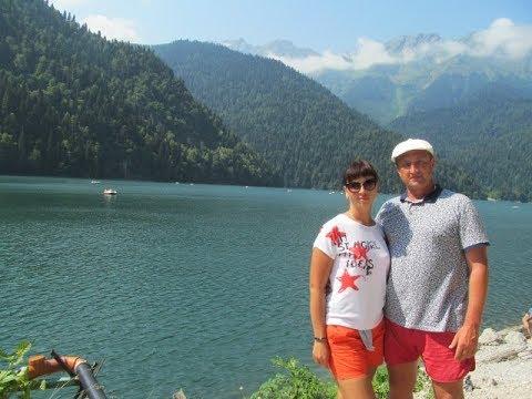 Экскурсия в Абхазию из Адлера | Озеро Рица, Гекский водопад, Пицунда, Голубое озеро