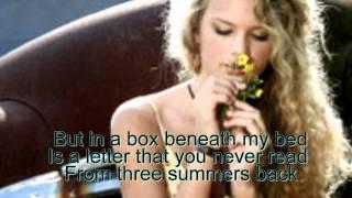 TIM MCGRAW [Karaoke-Instrumental] - Taylor Swift
