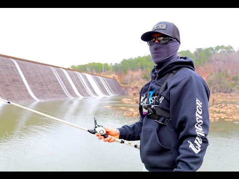 Fishing For Bass Around GIANT Dams!!