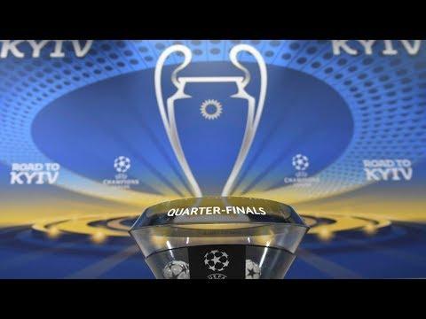 Champions League 2018, Quarter-Final Draw - Reaction