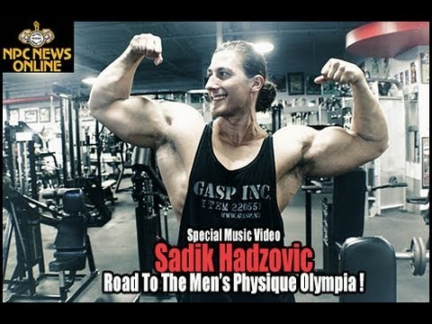 Sadik Hadzovic Gets Ready For The 2013 Men's Physique ...