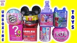 Toy Surprises Opening Mickey Mouse MOJ MOJ LOL Surprise Vampirina Blind Boxes