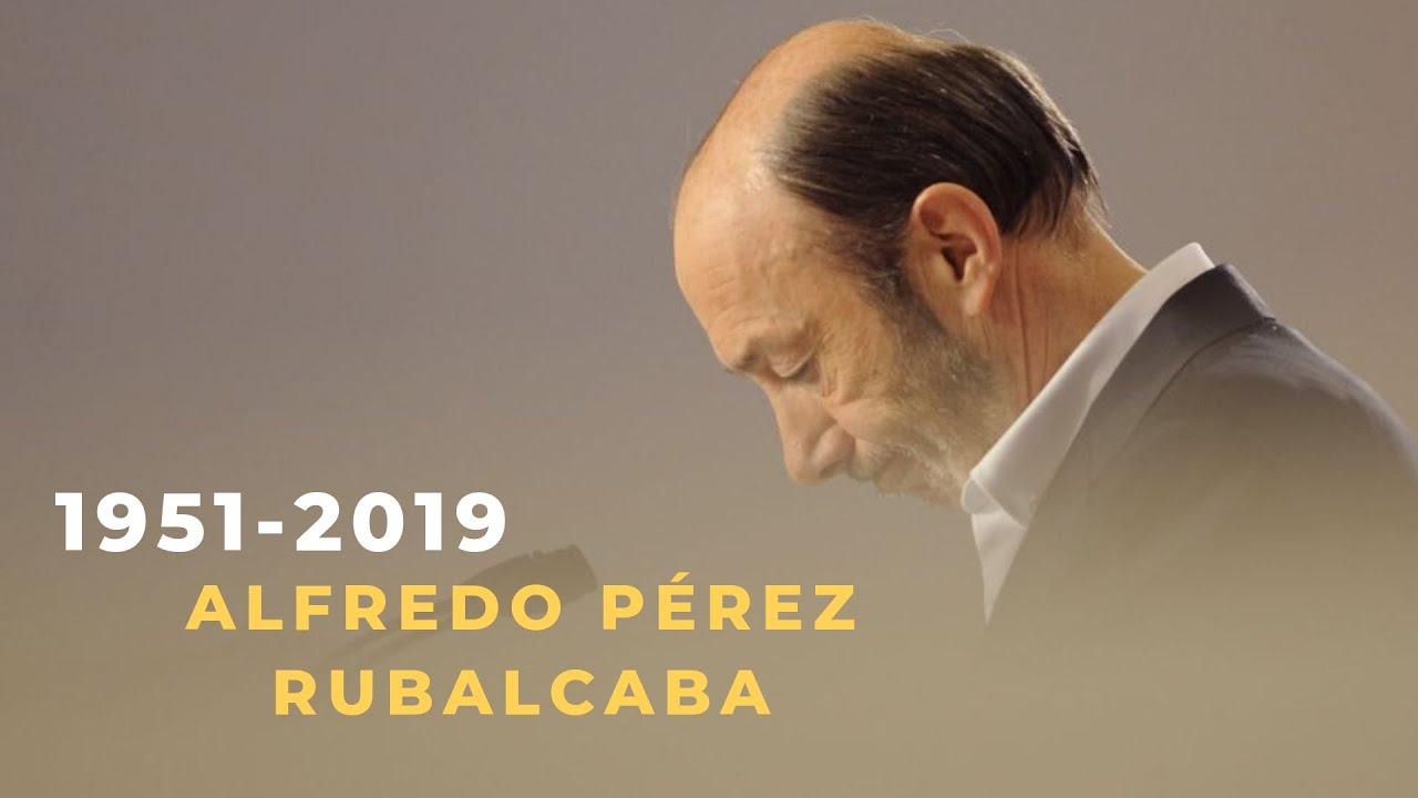 Muere Alfredo Pérez Rubalcaba Rubalcaba El Político Que
