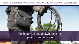 Kominiarz budowa kominów Kielce Jaroń Krzysztof. Usługi kominiarskie. Instalacje elektryczne, gazowe