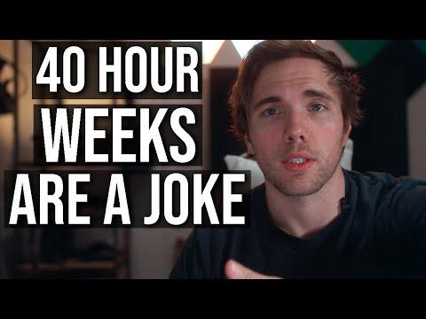 Why 40 hour work weeks are a joke... | #grindreel