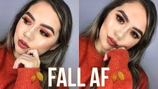 FALL AF MAKEUP TUTORIAL | Makeupbytreenz