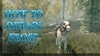 SKYRIM:HOW TO OBTAIN THE UNIQUE HORSE FROST