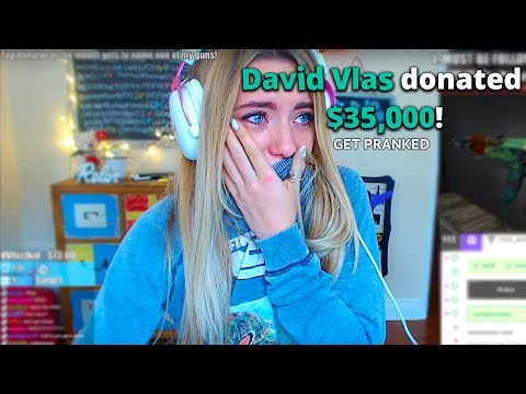 Pretending To Donate $35,000 To Attractive Twitch Streamers