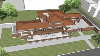 Robie House - Arrangement of Plan