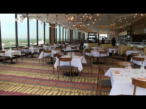 Enjoy a meal at the top of the World inside California Grill at Disney's Contemporary Resort