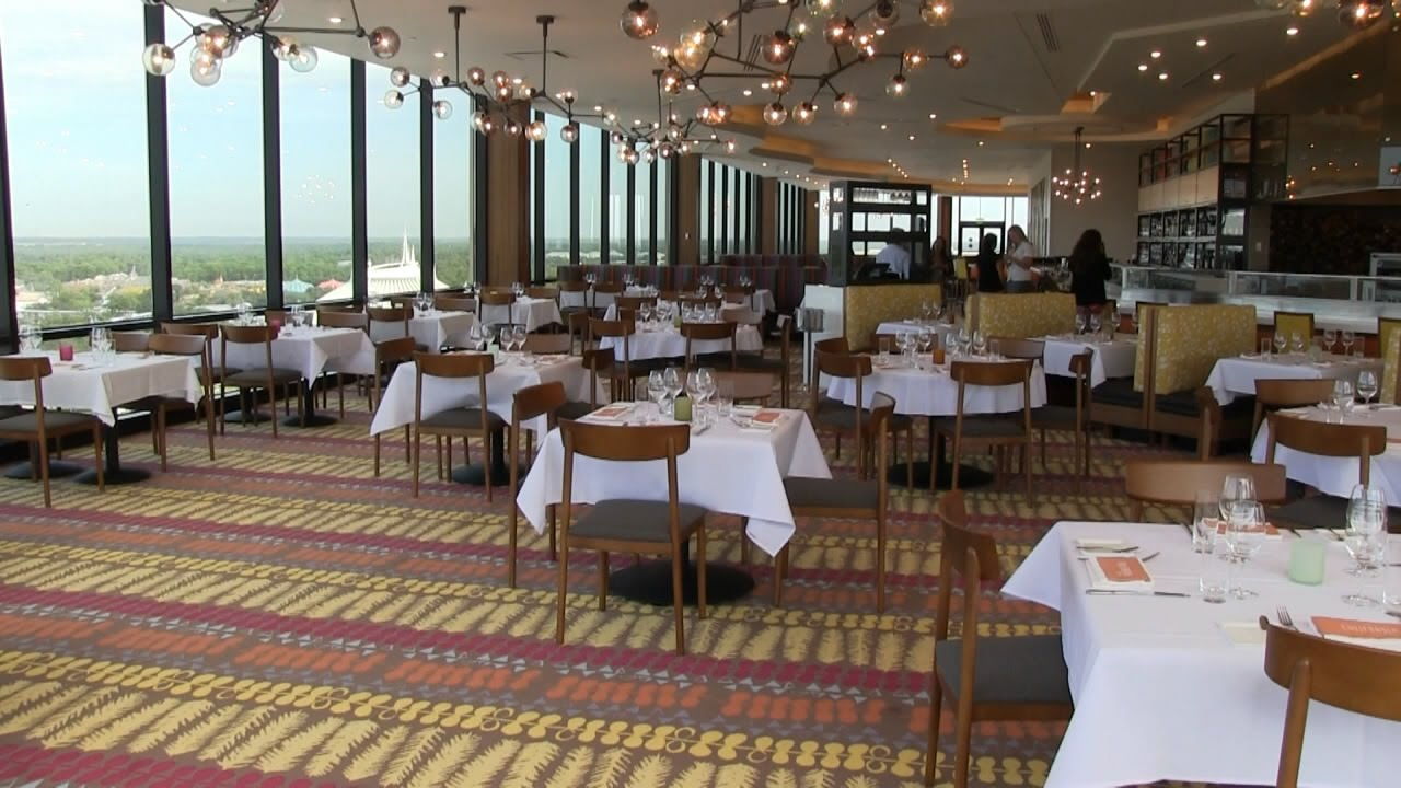 Enjoy a meal at the top of the World inside California Grill at