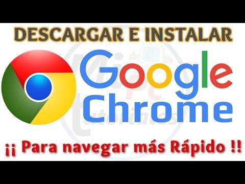 Tutorial Como Descargar e Instalar Google Chrome [Versión 2016