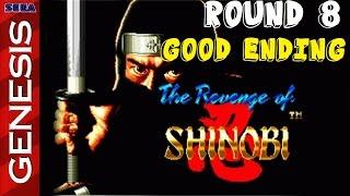 the revenge of shinobi sega genesis round 8   good ending