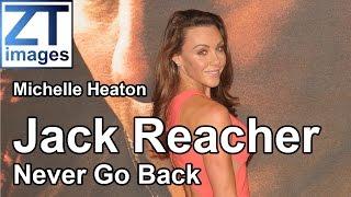 Michelle Heaton at the film premiere Jack Reacher: Never Go Back in London, UK.
