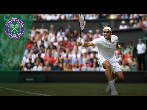 Roger Federer vs Lukas Lacko 2R Highlights | Wimbledon 2018