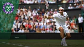 Roger Federer vs Lukas Lacko 2R Highlights | Wimbledon 2018
