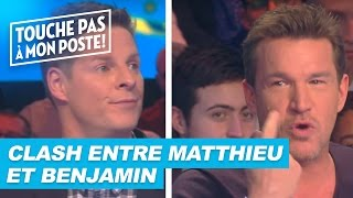 Clash entre Matthieu Delormeau et Benjamin Castaldi !