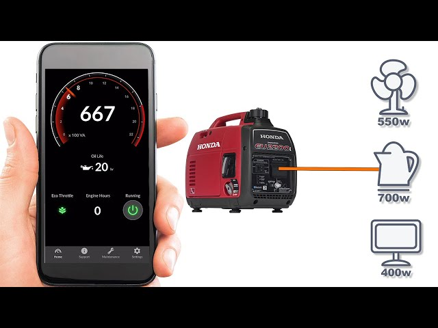 Honda My Generator App – Non-Electric Start Model Generators