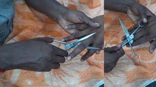 Asmr Worlds Best Weird Scissor Finger Massage Asmr Relax Performance