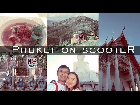 Phuket on a Scooter | Travel VLoggers | Thailand
