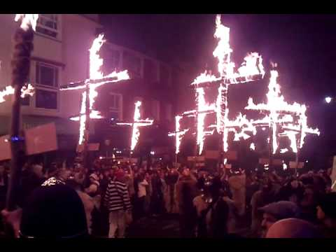 England - Lewes Bonfire Night 2010 - Cliffe Bonfire Society