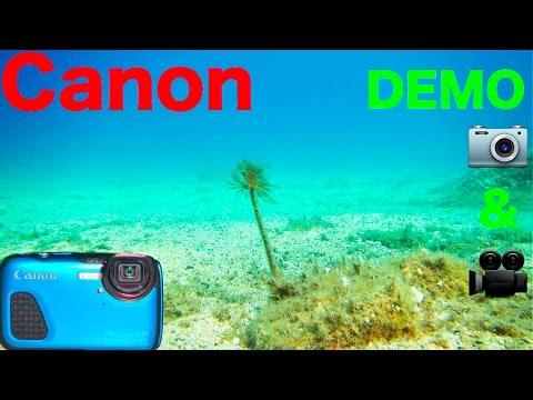 Canon Powershot D30 | DEMO FOTO & VIDEO Underwater