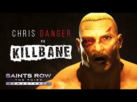 CHRIS DANGER vs KILLBANE!! (Saints Row: The Third FULL WRESTLING MATCH!!)  