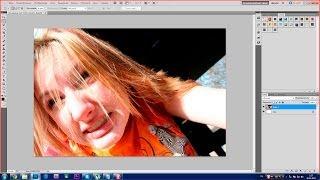 Урок Photoshop. 752 канал (Урок #24 Как из не красивой сделать красивую) (#ЕвгенийКулик)