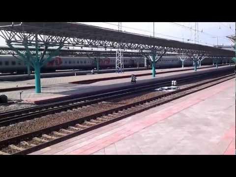 Железнодорожный вокзал Самара Поезд 131.mp4