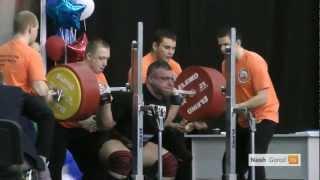 Powerlifting мужчины чемпионат России в Тюмени