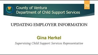 Updating Employer Information