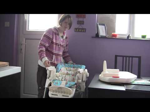 Chicco Poly Magic Highchair – baby feeding review video – ReviewGear