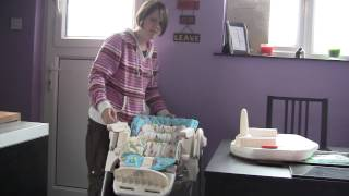 Chicco Poly Magic Highchair - baby feeding review video - ReviewGear