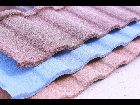 Sancidalo stone coated roofing tile, metal roof tile china manufacturer