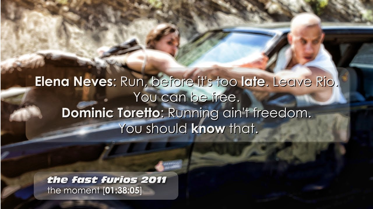 best quotes of movie the fast and furious 12003 5