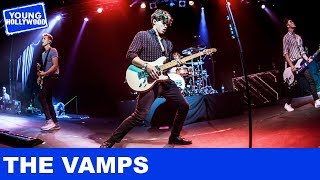 The Vamps Show Off Tour Bus & Reveal Who's Just Their Type!