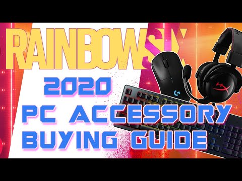 2020 Buying Guide for PC Peripherals (Mice, Keyboards, Headsets, Microphones) for Rainbow Six Siege