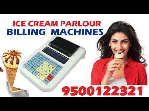 Ice Cream Parlour DEMO Billing Machines For Sales 9500122321 #Jude_equipment_pvt_ltd-9500122321 #ICE