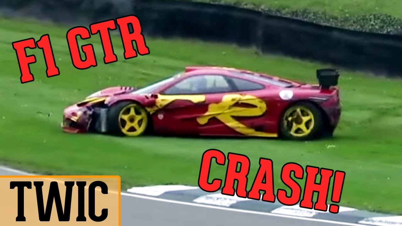 mclaren f1 gtr crash! (twic #69) - youtube