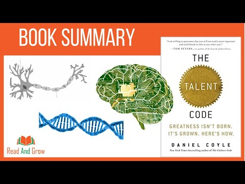 The Talent Code by Daniel Coyle - Animated Book Summary | How to Develop Talent